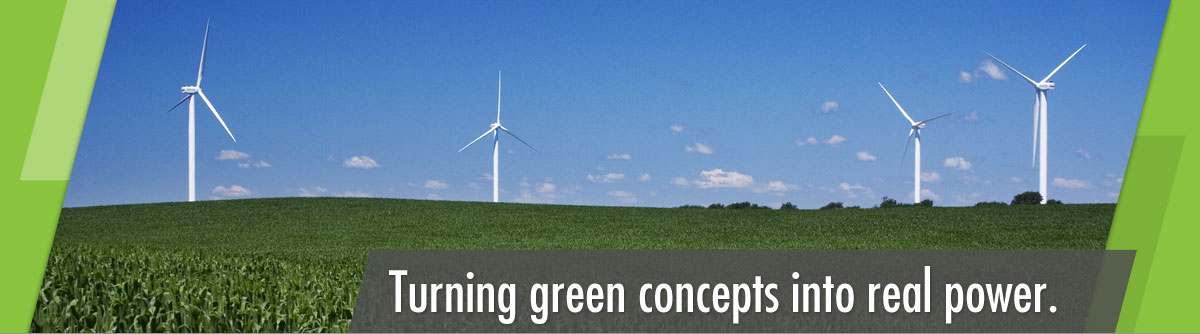 Turning green concepts into real power.